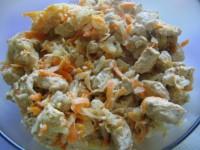 Куриное филе с овощами — мясо, в обрамлении полезных овощей с лимонным вкусом!