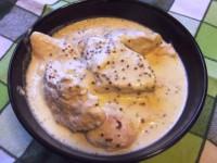 Куриное филе в сметане с ароматной горчицей