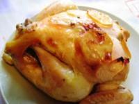 Курица, запеченная в рукаве — нежный вкус и лимонный аромат!
