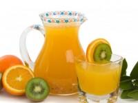 Полезные фрукты. Киви, груша, апельсин