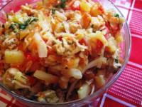 Овощное рагу с курицей — сытная трапеза для холодных дней!