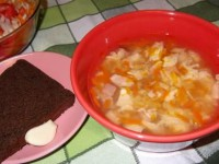 Суп гороховый с курицей. Нам зима не страшна!