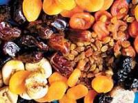 Вкусный десерт – сухофрукты, орехи, мед и капелька коньяка!