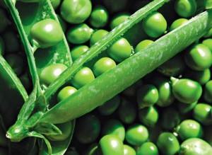 зеленый горох, витамин в1