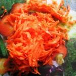 морковь натереть на крупной терке