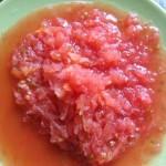 помидоры натереть на терке